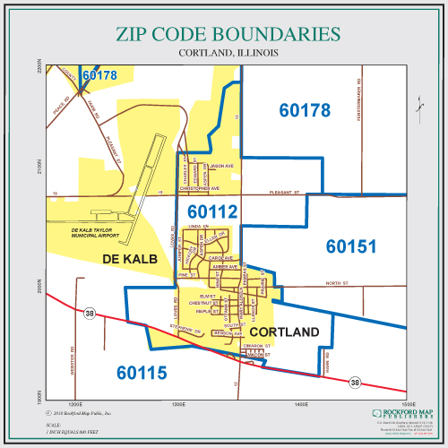Rockford Il Zip Codes Map | Zip Code MAP