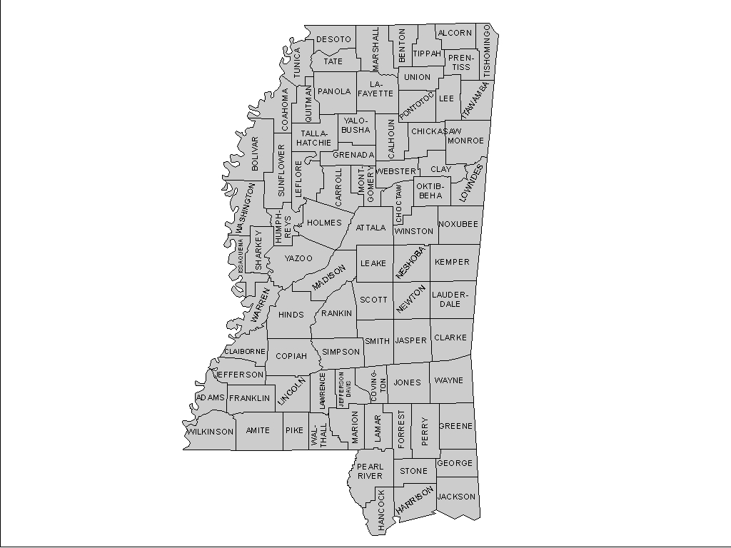 Mississippi george county - Choose A County Adams